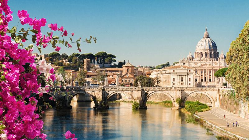 Roma til havet på egen hånd