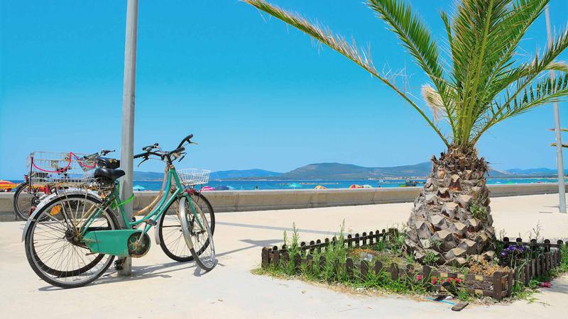 Sykkeltur på egen hånd